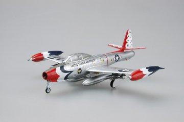 F-84G USAF Thunderbirds 1955 · EZM 36801 ·  Easy Model · 1:72