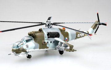 Mi-24 Czech Republic Air Force No.0709 · EZM 37036 ·  Easy Model · 1:72