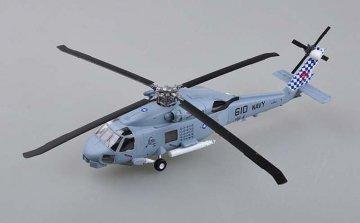 SH 60B Sea Hawk, HS-4 Black Knights 61D · EZM 37086 ·  Easy Model · 1:72