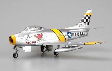 F-86F30, 39FS/51 FW flown by Chrles McSain. Korea,1953 · EZM 37104 ·  Easy Model · 1:72