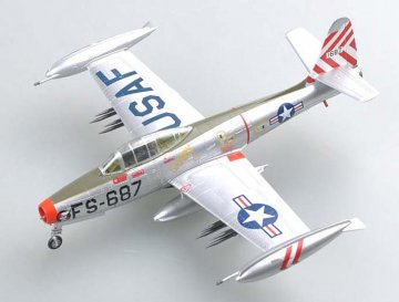 F-84E SANDY assigned to the 9th FBS,Base · EZM 37108 ·  Easy Model · 1:72