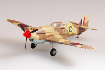 P-40B/C Warhawk RAF250Squ 1941 N. Afr. · EZM 37208 ·  Easy Model · 1:72