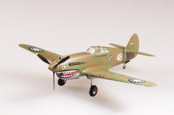 P-40B/C Warkawk 2nd Sqn in China · EZM 37210 ·  Easy Model · 1:72