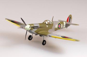 Spitfire Mk V RAF 121 Sqn September 1942 · EZM 37211 ·  Easy Model · 1:72