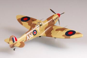 Supermarine Spitfire Mk VC Trop RAF 417 · EZM 37216 ·  Easy Model · 1:72