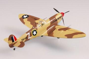 Spitfire Mk VC/Trop USAAF 2FS 1943 · EZM 37219 ·  Easy Model · 1:72