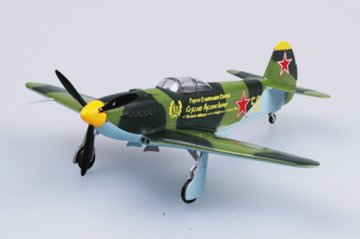 YAK-3 Ost-Russland 1943 · EZM 37227 ·  Easy Model · 1:72