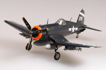 F4U-1 Corsair USS Hancock 1945 · EZM 37232 ·  Easy Model · 1:72