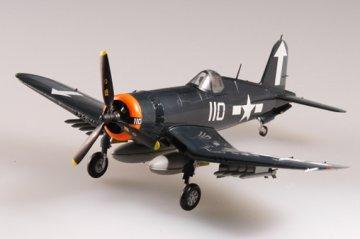 F4U-1 Corsair VF-84 USS Bunker Hill 1945 · EZM 37234 ·  Easy Model · 1:72
