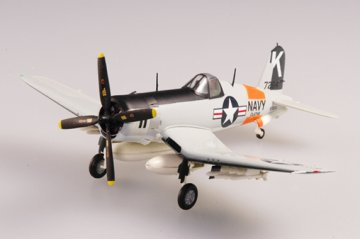 F4U-4 Corsair USN Kansas 1956 · EZM 37240 ·  Easy Model · 1:72