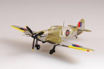 Hawker Hurricane MkII 87 Squadron 1942 · EZM 37241 ·  Easy Model · 1:72