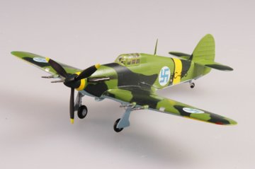 Hurricane MkII 1942 Finnland · EZM 37243 ·  Easy Model · 1:72