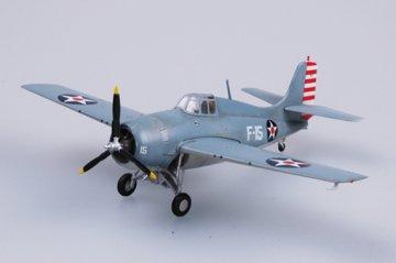 Grumman F4F-3 Wildcat VF-3 · EZM 37246 ·  Easy Model · 1:72