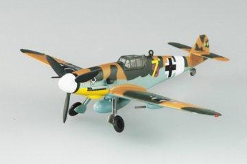 Messerschmitt Bf 109 G-2 III/JG53 Tunesi. · EZM 37252 ·  Easy Model · 1:72