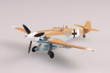 Messerschmitt Bf 109 G-2 JG 27 1943 · EZM 37253 ·  Easy Model · 1:72