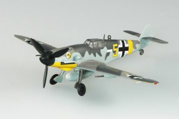 Messerschmitt Bf 109 G-2 VI./JG51 1942 · EZM 37255 ·  Easy Model · 1:72