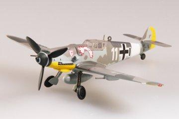 Messerschmitt Bf 109 G-6 VII./JG3 JG27 · EZM 37256 ·  Easy Model · 1:72
