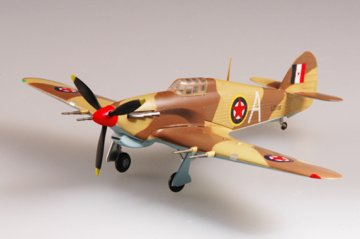 Hawker Hurricane MKII Trop Jugoslawien · EZM 37268 ·  Easy Model · 1:72
