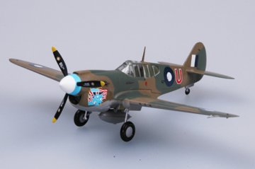 P-40E Tomahawk 77 Sqn RAAF 1942 · EZM 37271 ·  Easy Model · 1:72