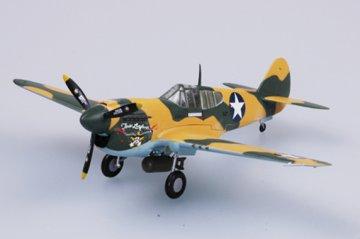 P-40E Tomahawk 9FS 49FG 1941 · EZM 37273 ·  Easy Model · 1:72