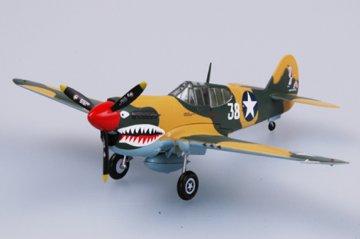 P-40E Tomahawk 16FS 23FG 1942 · EZM 37274 ·  Easy Model · 1:72