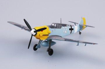 Messerschmitt Bf 109 E-7/Trop 7/JG2 · EZM 37276 ·  Easy Model · 1:72