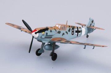 Messerschmitt Bf 109 E/TROP JG27 · EZM 37277 ·  Easy Model · 1:72