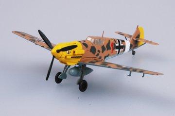 Messerschmitt Bf 109 E-7/Trop 2/JG27 · EZM 37278 ·  Easy Model · 1:72