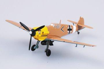 Messerschmitt Bf 109 E-7/Trop 1/JG27 · EZM 37280 ·  Easy Model · 1:72
