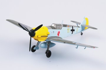 Messerschmitt Bf 109 E-1 9/JG26 · EZM 37283 ·  Easy Model · 1:72