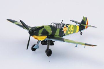 Messerschmitt Bf 109 E Rumanian Airforce · EZM 37285 ·  Easy Model · 1:72