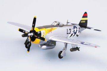 P-47D Thunderbolt 512FS , 406FG · EZM 37287 ·  Easy Model · 1:72