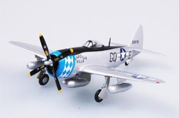 P-47D Thunderbolt 355FS , 354FG · EZM 37289 ·  Easy Model · 1:72