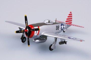 P-47D Thunderbolt 527FS, 86FG · EZM 37290 ·  Easy Model · 1:72