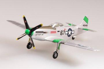 P-51D Mustang IV 45FS, 15FG, 1945 · EZM 37292 ·  Easy Model · 1:72