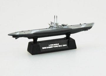 DKM U-boat German NavyU7C · EZM 37315 ·  Easy Model · 1:700