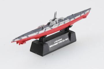 German Navy U-9B 1941 · EZM 37317 ·  Easy Model · 1:700