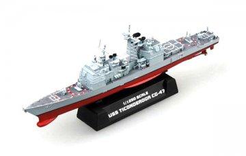 USS CG-47 Ticonderoga Cruiser · EZM 37401 ·  Easy Model · 1:1250