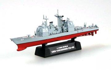 USS CG-49 Vincennes Cruiser · EZM 37402 ·  Easy Model · 1:1250