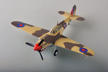 P-40M No.112 Sqn Sicily 1943 · EZM 39312 ·  Easy Model · 1:48