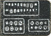 Abdeckungen und Scharniere Gravierschablone · EDU 00004 ·  Eduard · 1:72