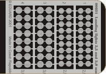 Landing lights 2,5 and 3 mm · EDU 00021 ·  Eduard