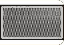 Gitter/Mesh, gaueze/rhomb Type 1, 6x4 · EDU 00112 ·  Eduard