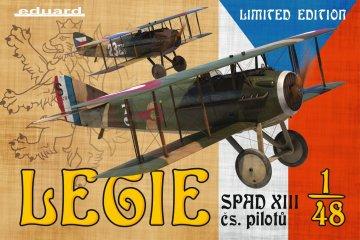 Legie-SPAD XIII cs.Pilot - Limited Edition · EDU 11123 ·  Eduard · 1:48