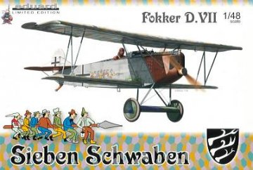 Fokker D.VII ´´Sieben Schwaben´´ Limited Edition · EDU 1139 ·  Eduard · 1:48