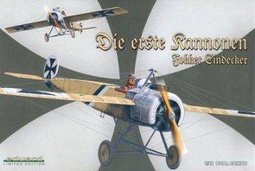 Fokker E.I/E.II  DUAL COMBO Limited Edition · EDU 1141 ·  Eduard · 1:48