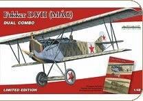 Fokker D.VII MAG Dual Combo (limited) · EDU 1147 ·  Eduard · 1:48