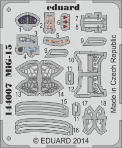 MiG-15 [Eduard] · EDU 144007 ·  Eduard · 1:144