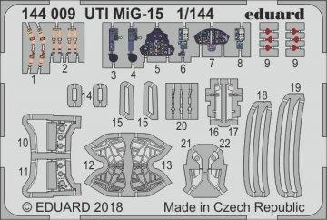 UTI MIG-15 [Eduard] · EDU 144009 ·  Eduard · 1:144