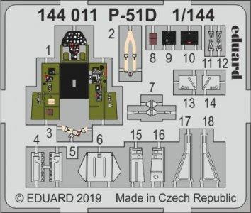 P-51D [Eduard] · EDU 144011 ·  Eduard · 1:144